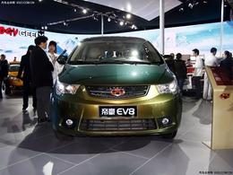 2010北京车展吉利帝豪EV8