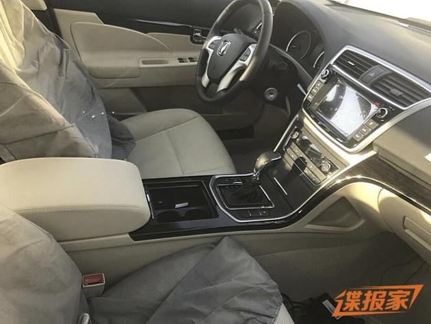 长安睿骋1.5T车型谍照 最大功率170马力