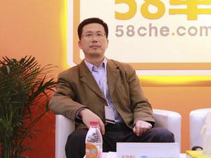 上海车展 访一汽-大众二手车部长孙大勇