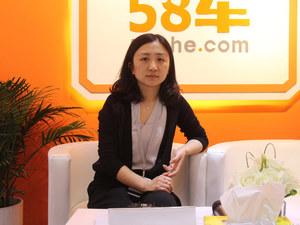 2017上海车展 访长安公关部副总王晓玲