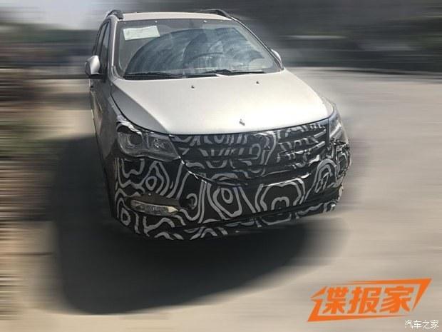 北汽威旺M50F自动挡谍照 有望近期上市