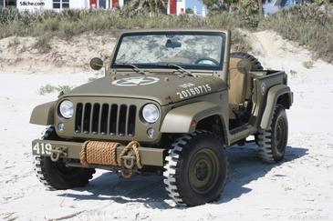 向经典致敬 Quick-drive-Jeep