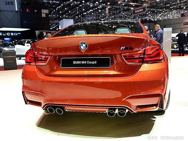 宝马新款M4正式上市 售92.70-109.80万元
