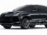 曝科尔维特SUV假想图 短期没有生产计划
