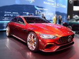 AMG GT概念车将国内亮相 四门轿跑雏形