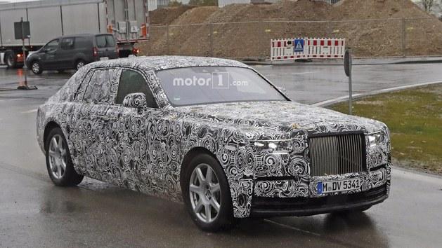 劳斯莱斯新一代幻影年底亮相 全铝车身