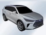比亚迪全新SUV专利图曝光 或为新一代唐