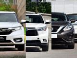 冠道/汉兰达/楼兰过招 主流中型SUV对决