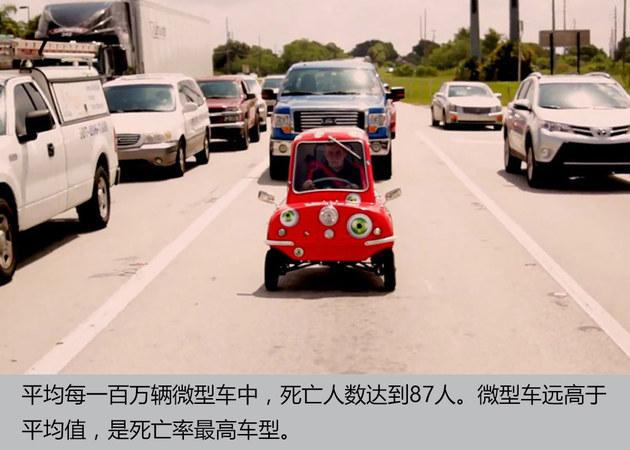 据不会说谎 小车事故死亡率比大车更高