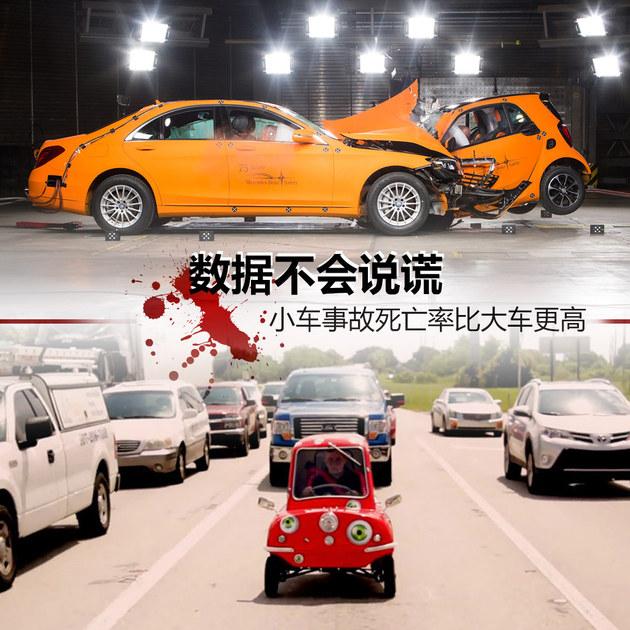 数据不会说谎 小车死亡率比大车更高