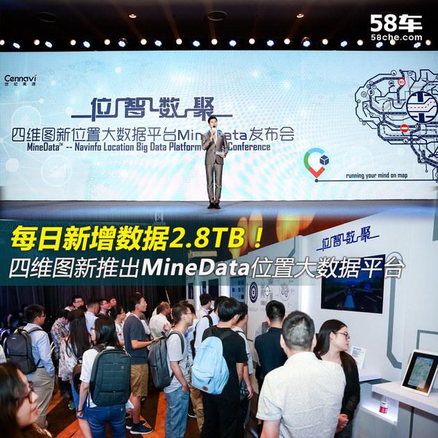 日增数据2.8T 四维图新发布MineData平台