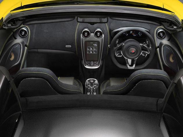 迈凯伦570S Spider官图亮相 月底发布