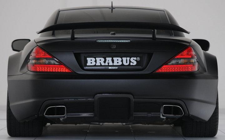 Brabus改装奔驰SL65AMG
