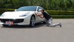 法拉利GTC4Lusso 试驾