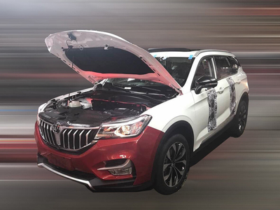 中华F60无伪谍照曝光 定位为紧凑型SUV