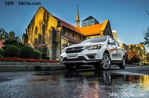 新骏派D60长沙上市5.69万起打造动感SUV