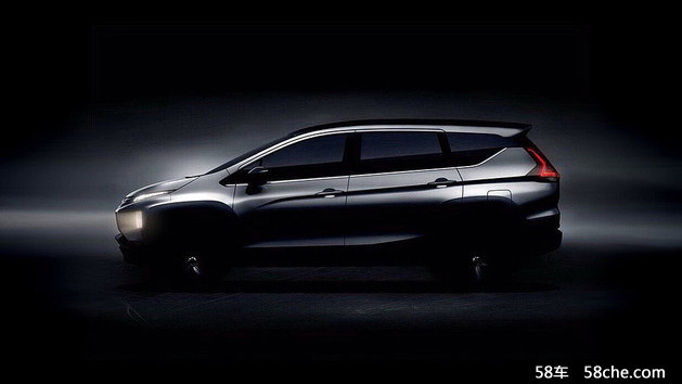 三菱XM新预告图发布 8月10日将正式亮相