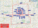 北京部分道路全天禁行外地车 8月14日实施