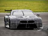宝马M8 GTE测试谍照曝光 明年参加比赛