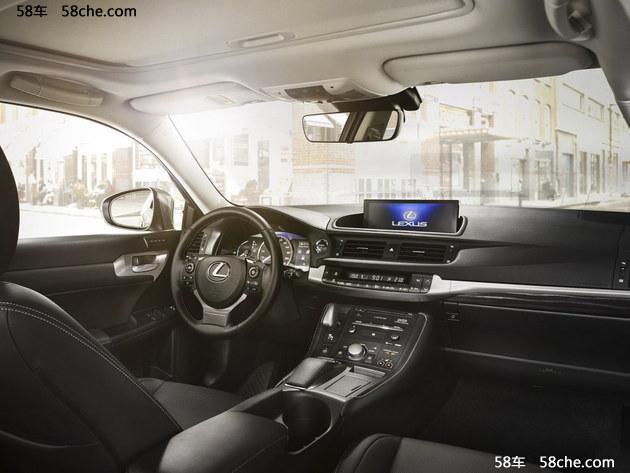 雷克萨斯新款CT200h预售23万起 三款车型