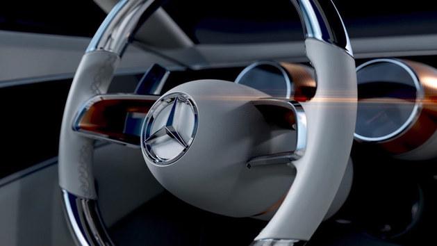 梅赛德斯-迈巴赫概念车预告图 下周亮相
