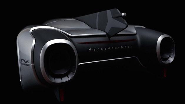 曝AMG最新概念车渲染图 出自韩国设计师
