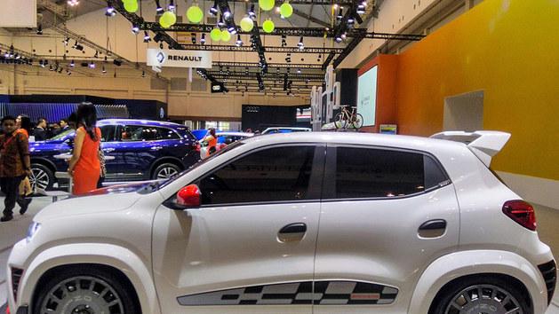 雷诺新Kwid概念车Extreme亮相印尼车展