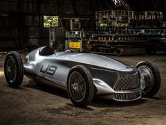 复古风电动赛车Infiniti Prototype 9