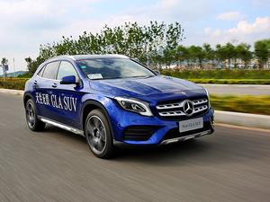 北京奔驰新款GLA试驾 很受用的小变化