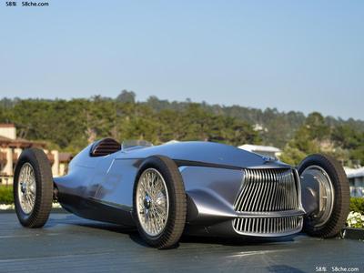英菲尼迪Prototype 9首发 科幻的复古车