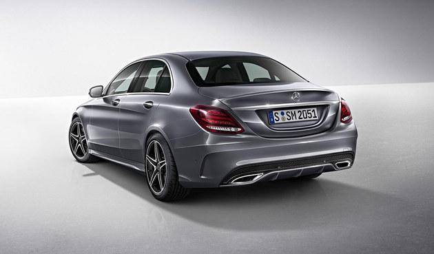 奔驰推C级特别版车型 新增AMG运动套件