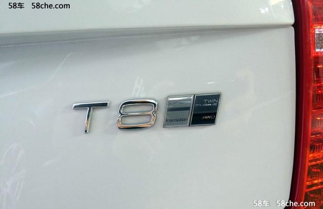 成都车展探馆 新款XC90 T8车型将上市