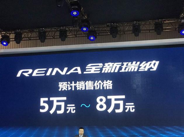 成都车展 北京现代全新瑞纳售5.0-8.0万
