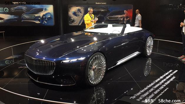 2017法兰克福车展 迈巴赫6概念车发布