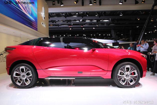 2017法兰克福车展 WEY新XEV概念SUV发布
