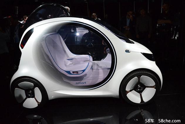 2017法兰克福车展 smart新概念车亮相