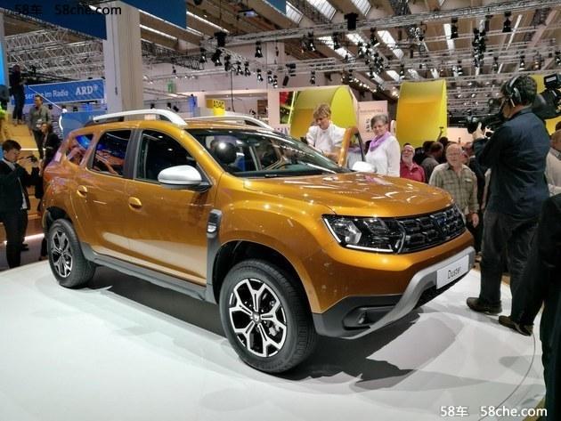 2017法兰克福 新Dacia Duster正式亮相