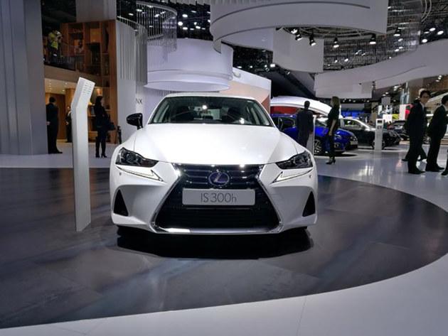 2017法兰克福车展 雷克萨斯IS 300h亮相