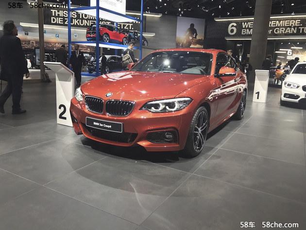 2017法兰克福车展 宝马新款2系家族首发