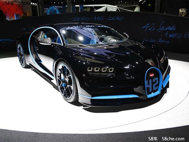 """作为创纪录的特别版车型,新车整体造型与现款车型保持一致,主要的变化就是标志性的前格栅处以及车身多处将拥有纪念性的""""42""""标识,以此来展现其独特的身份,而这个数字也充分对外展示了布加迪Chiron所取得的傲人成绩。"""