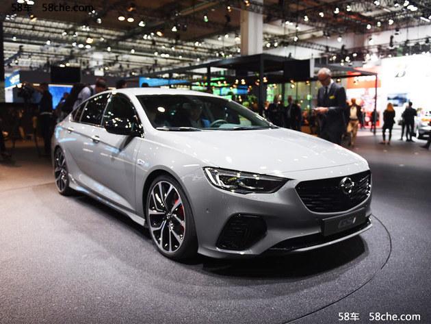 2017法兰克福车展 欧宝发布英速亚GSi