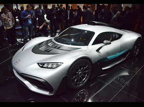 2017法兰克福车展 AMG Project ONE实拍