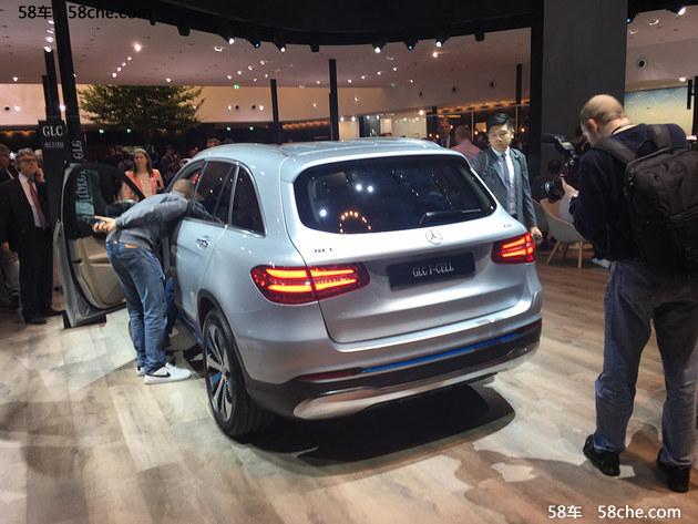 2017法兰克福车展 奔驰GLC F-Cell氢动力