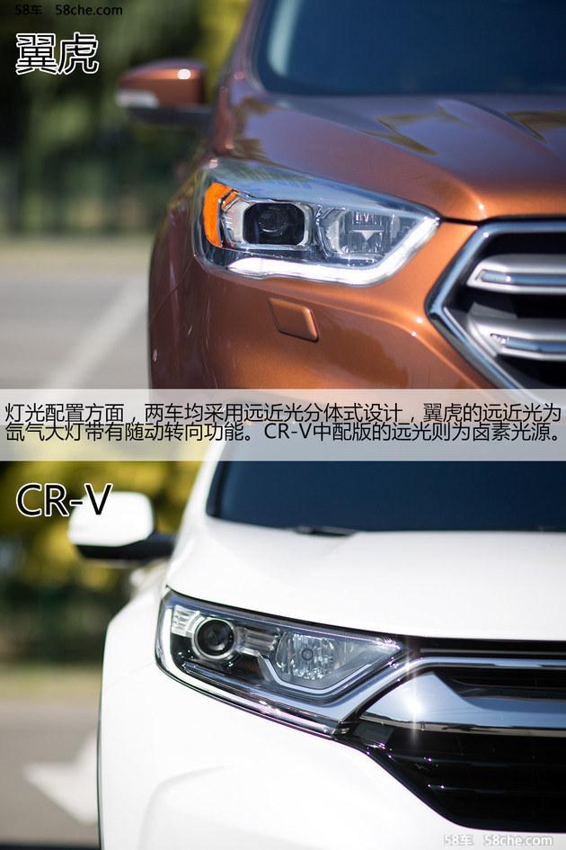 性格迥异 长安福特翼虎对东风本田CR-V