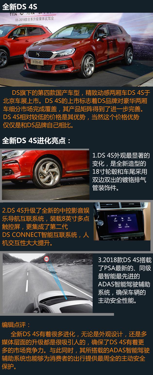 DS品牌全系升级体验 科技与安全同提高