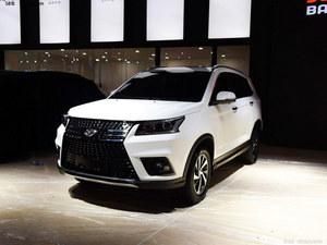 北汽幻速S7定位7座SUV 9月27日下线预售