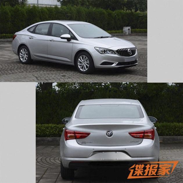 别克GL6/阅朗等五款车 将10月16日上市