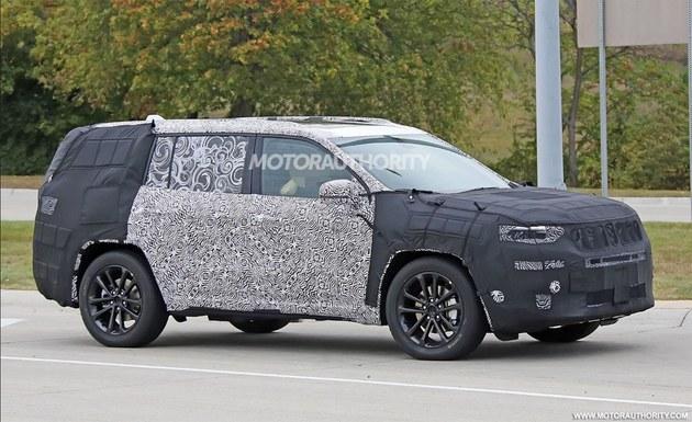 Jeep全新7座SUV谍照曝光 明年正式亮相