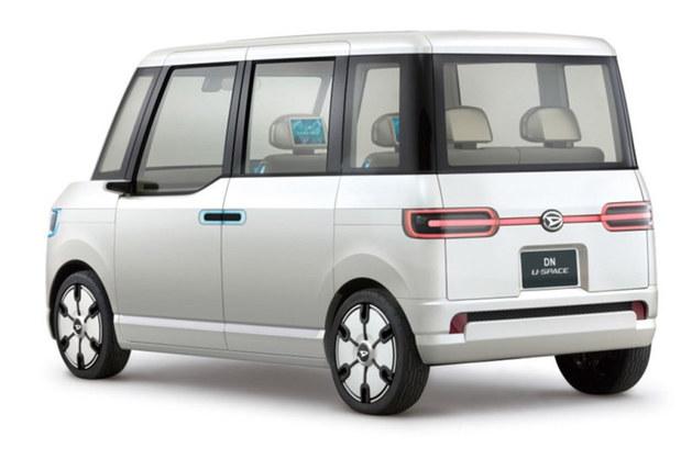 大发4款新概念车官图 或将10月25日发布