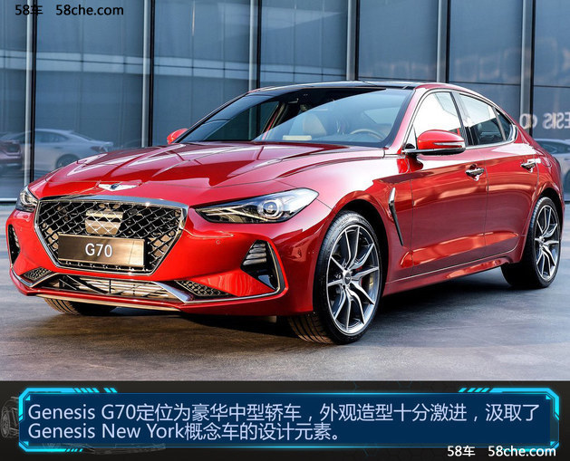 """现代版""""BMW 3系"""" Genesis G70官图解析"""